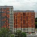 новые дома в районе Марфино