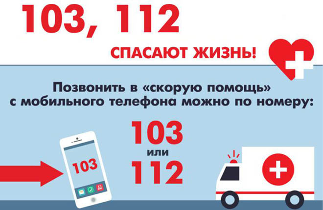 телефоны скорой и неотложной помощи