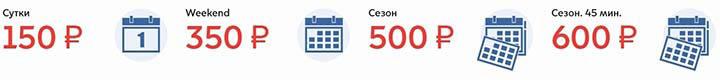 Тарифы на велопрокат в Москве
